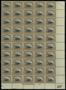 Sale Number 913, Lot Number 988, Complete Sheets and Panes10c Pan-American (299), 10c Pan-American (299)