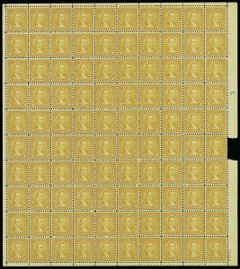 Sale Number 913, Lot Number 993, Complete Sheets and Panes1c-10c 1923-26 Issue (581-591), 1c-10c 1923-26 Issue (581-591)