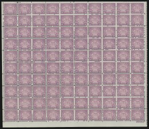 Sale Number 913, Lot Number 995, Complete Sheets and Panes11c-50c 1931 Issue (692-701), 11c-50c 1931 Issue (692-701)
