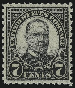Sale Number 914, Lot Number 1933, 1922-29 and Later Issues (Scott 617 to 834)7c Nebr. Ovpt. (676), 7c Nebr. Ovpt. (676)