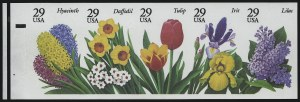 Sale Number 914, Lot Number 2518, Modern Booklet Panes29c Flowers, Booklet Pane of Five, Imperforate (2764c), 29c Flowers, Booklet Pane of Five, Imperforate (2764c)
