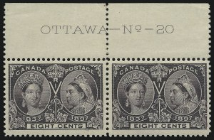Sale Number 916, Lot Number 4152, Imprint and Plate Number Multiples8c Jubilee (56), 8c Jubilee (56)