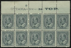 Sale Number 916, Lot Number 4178, Imprint and Plate Number Multiples1c Green (89), 1c Green (89)