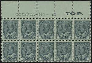 Sale Number 916, Lot Number 4180, Imprint and Plate Number Multiples1c Green (89), 1c Green (89)