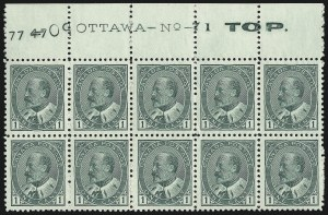 Sale Number 916, Lot Number 4182, Imprint and Plate Number Multiples1c Green (89), 1c Green (89)