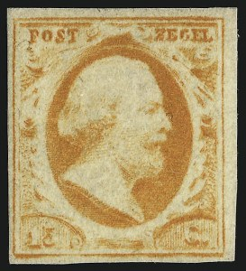 Sale Number 917, Lot Number 330, Netherlands1852, 15c Orange (3), 1852, 15c Orange (3)