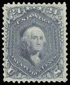 Sale Number 918, Lot Number 37, 1861-66 Issue24c Steel Blue (70b), 24c Steel Blue (70b)