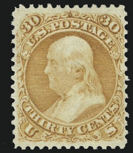 Sale Number 918, Lot Number 38, 1861-66 Issue30c Orange (71), 30c Orange (71)