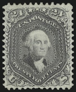Sale Number 918, Lot Number 43, 1861-66 Issue24c Lilac (78), 24c Lilac (78)