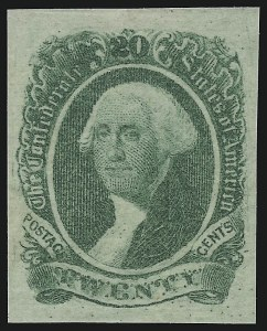 "Sale Number 918, Lot Number 87, Confederate States General Issues20c Green, ""20"" Doubled (13 var), 20c Green, ""20"" Doubled (13 var)"