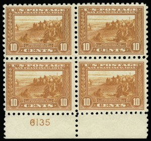 Sale Number 920, Lot Number 213, Panama-Pacific Issue10c Panama-Pacific, Perf 10 (404), 10c Panama-Pacific, Perf 10 (404)