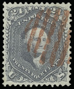Sale Number 920, Lot Number 72, 1861-66 Issue24c Steel Blue (70b), 24c Steel Blue (70b)
