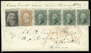 Sale Number 920, Lot Number 79, 1861-66 Issue2c Black (73), 2c Black (73)