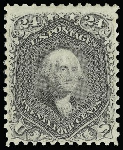 Sale Number 920, Lot Number 81, 1861-66 Issue24c Grayish Lilac (78a), 24c Grayish Lilac (78a)