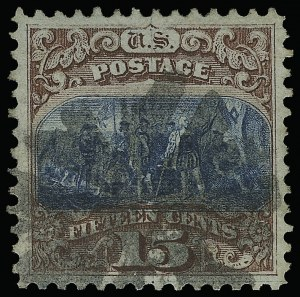 Sale Number 921, Lot Number 522, 1869 Pictorial Issue15c Brown & Blue, Ty. I (118), 15c Brown & Blue, Ty. I (118)