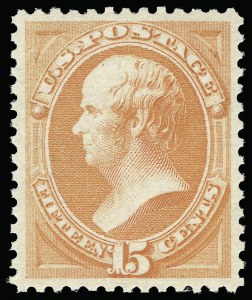 Sale Number 921, Lot Number 537, 1870-88 Bank Note Issues15c Red Orange (189), 15c Red Orange (189)