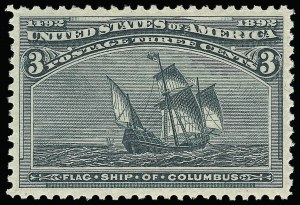 Sale Number 921, Lot Number 551, 1893 Columbian Issue3c Columbian (232), 3c Columbian (232)