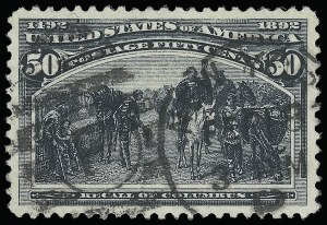 Sale Number 921, Lot Number 560, 1893 Columbian Issue50c Columbian (240), 50c Columbian (240)