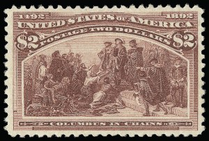 Sale Number 921, Lot Number 563, 1893 Columbian Issue$2.00 Columbian (242), $2.00 Columbian (242)