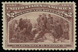 Sale Number 921, Lot Number 564, 1893 Columbian Issue$2.00 Columbian (242), $2.00 Columbian (242)