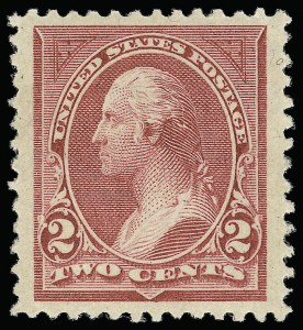 Sale Number 921, Lot Number 568, 1894-98 Bureau Issues2c Carmine Lake, Ty. I (249), 2c Carmine Lake, Ty. I (249)