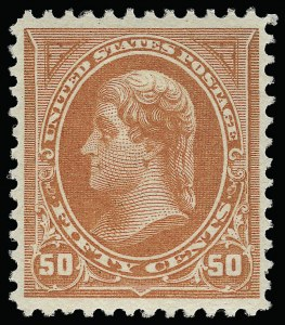Sale Number 921, Lot Number 570, 1894-98 Bureau Issues50c Orange (260), 50c Orange (260)
