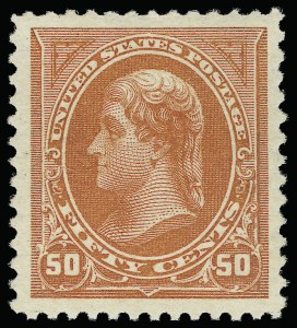 Sale Number 921, Lot Number 571, 1894-98 Bureau Issues50c Orange (260), 50c Orange (260)