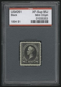 Sale Number 921, Lot Number 573, 1894-98 Bureau Issues$1.00 Black (261), $1.00 Black (261)