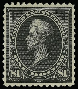 Sale Number 921, Lot Number 574, 1894-98 Bureau Issues$1.00 Black, Ty. II (261A), $1.00 Black, Ty. II (261A)