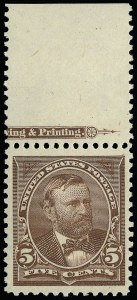 Sale Number 921, Lot Number 575, 1894-98 Bureau Issues5c Chocolate (270), 5c Chocolate (270)