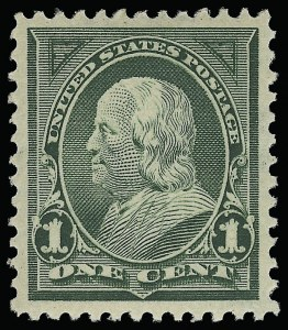 Sale Number 921, Lot Number 577, 1894-98 Bureau Issues1c Deep Green (279), 1c Deep Green (279)