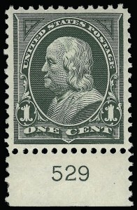 Sale Number 921, Lot Number 578, 1894-98 Bureau Issues1c Deep Green (279), 1c Deep Green (279)