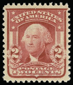 Sale Number 921, Lot Number 614, 1902-08 Issues2c Carmine, Ty. II (319i), 2c Carmine, Ty. II (319i)