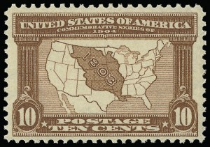 Sale Number 921, Lot Number 619, Louisiana Purchase Issue10c Louisiana Purchase (327), 10c Louisiana Purchase (327)