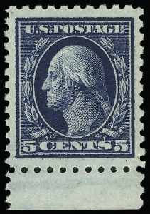 Sale Number 921, Lot Number 667, Washington-Franklin Issues (continued)5c Blue (428), 5c Blue (428)
