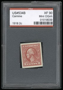 Sale Number 921, Lot Number 709, Washington-Franklin Issues (continued)2c Carmine, Ty. VII, Imperforate (534B), 2c Carmine, Ty. VII, Imperforate (534B)