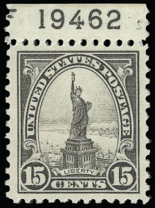 Sale Number 921, Lot Number 714, Later Issues15c Gray (566), 15c Gray (566)