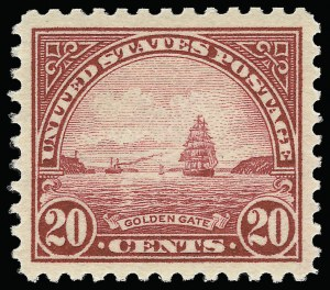 Sale Number 921, Lot Number 715, Later Issues20c Carmine Rose (567), 20c Carmine Rose (567)