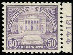 Sale Number 921, Lot Number 719, Later Issues50c Lilac (570), 50c Lilac (570)
