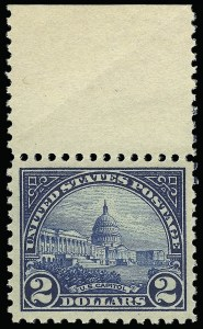 Sale Number 921, Lot Number 724, Later Issues$2.00 Deep Blue (572), $2.00 Deep Blue (572)