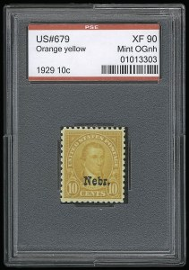 Sale Number 921, Lot Number 747, Later Issues10c Nebr. Ovpt. (679), 10c Nebr. Ovpt. (679)