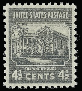 Sale Number 921, Lot Number 752, Later Issues4-1/2c Presidential (809), 4-1/2c Presidential (809)