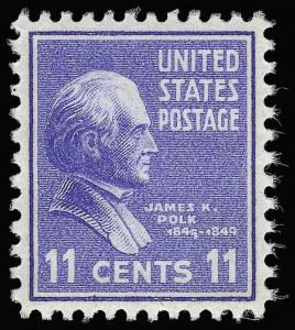 Sale Number 921, Lot Number 754, Later Issues11c Presidential (816), 11c Presidential (816)