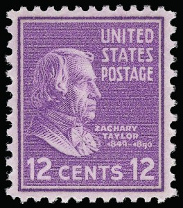 Sale Number 921, Lot Number 755, Later Issues12c Presidential (817), 12c Presidential (817)