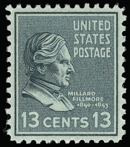 Sale Number 921, Lot Number 756, Later Issues13c Presidential (818), 13c Presidential (818)
