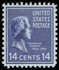 Sale Number 921, Lot Number 757, Later Issues14c Presidential (819), 14c Presidential (819)