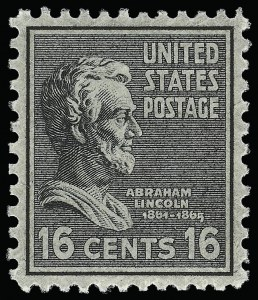 Sale Number 921, Lot Number 759, Later Issues16c Presidential (821), 16c Presidential (821)