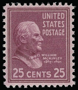 Sale Number 921, Lot Number 763, Later Issues25c Presidential (829), 25c Presidential (829)