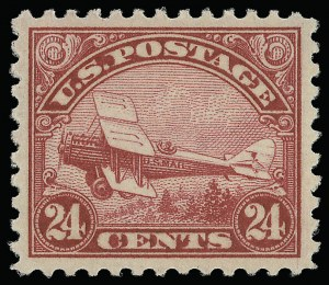 Sale Number 921, Lot Number 780, Air Post24c Carmine, 1923 Air Post (C6), 24c Carmine, 1923 Air Post (C6)