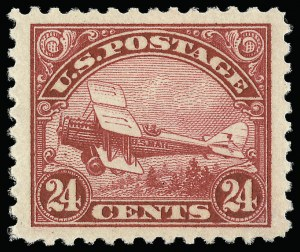 Sale Number 921, Lot Number 781, Air Post24c Carmine, 1923 Air Post (C6), 24c Carmine, 1923 Air Post (C6)